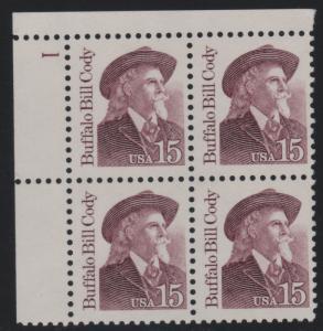 2177b 15c Buffalo Bill Cody 1  UL