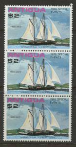 Antigua #458 MNH 1976 Single 3 X  $2.00 Stamps