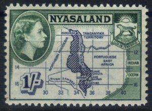 Nyasaland 1953 SG182 HM