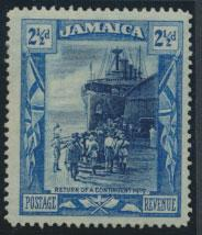 Jamaica SG 82a SC# 79a  Mint Light Hinge trace    see details