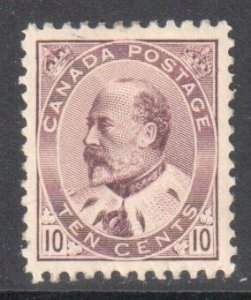 Canada #93 Mint XF OG LH C$800.00 -- Ultimate Centering