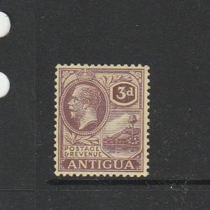 Antigua 1921/9 Script CA 3d Fresh Fine MM SG 74