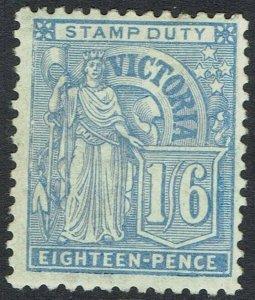 VICTORIA 1886 'VICTORIA' 1/6 BLUE