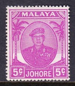 Malaya (Johore) - Scott #134 - MH - SCV $1.25