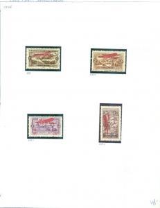 LEBANON : 1926-62. Scott #CB1-17 Complete. Missing only CB7. VF, MOG H. Cat $202