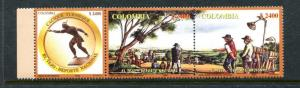 Colombia 1213, MNH, Tajo National Sport 2003. x23509