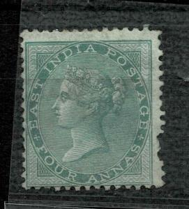 INDIA QV 1865- SG NO 64  4AS GREEN   WM ELP- MM CV 1500  GBP +