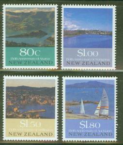 New Zealand Scott 993-6 Harbor MH* set CV $7.45