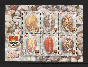 SHELLS - KIRIBATI #824a  MNH