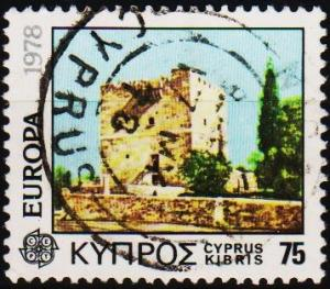 Cyprus. 1978  75m S.G.503 Fine Used