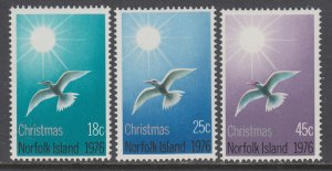 Norfolk Island 198-200 Christmas MNH VF
