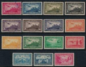 Nicaragua #C193-202,36-40*/u  CV $3.75