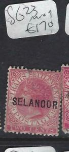 MALAYA SELANGOR (P0702B)  QV  2C   SG 23  MOG