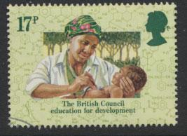 GB SG 1263 SC# 1067 - Used First Day Cancel - British Council