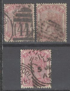 COLLECTION LOT # 2238 GREAT BRITAIN #80 X 3 MAY HAVE MINOR FAULT 1880 CV+$150