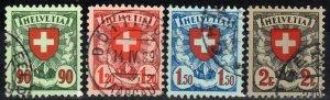 Switzerland #200a-03a  F-VF Used CV $36.00 (X1613)
