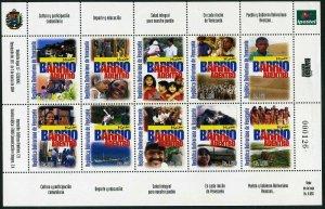 Venezuela 1634 aj,1634K sheets,MNH. Barrio Adentro Mission,2004.