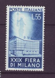J21611 Jlstamps 1951 italy hv of set mh #573 milan fair