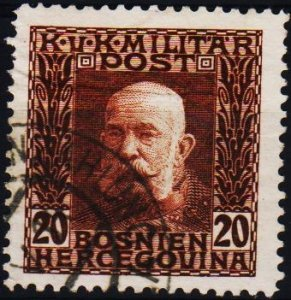 Bosnia and Herzegovona.1912 20h S.G.369 Fine Used