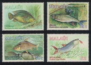 Malawi Fish Malawi Angling Society 4v SG#813-816