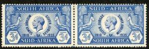 South Africa, Scott #70, Unused, Hinged pair