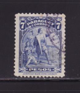 Paraguay 402 U Christopher Columbus, Explorer (C)