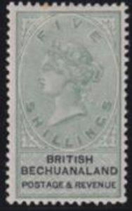 Bechuanaland 1887 SC 19 MLH