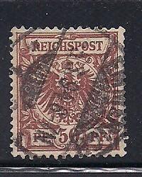 Germany Sc.# 51 Used Mi.#50 L9