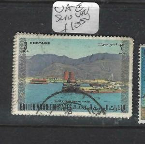 UNITED ARAB EMIRATES  (PP0206B) 3 D     SG 10   VFU