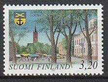 1995 Finland - Sc 965 - MNH VF - 1 single - Town of Loviisa