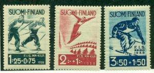 FINLAND #B31-3, Mint Never Hinged, Scott $22.50