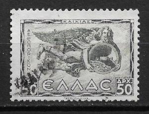 1942 Greece C60 Kaikias 50d used