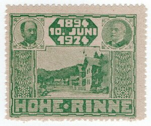 (I.B-CK) Hungary Local Post : Hohe Rinne 30th Anniversary