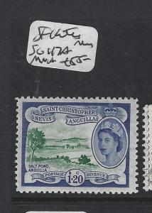ST KITTS NEVIS (P2405B) QEII  $1.20  SG 112A  MNH