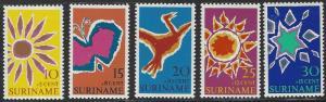 Suriname #B162-B166 MNH Full Set of 5