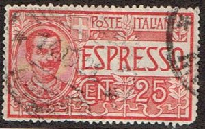 Italy # E1  Used