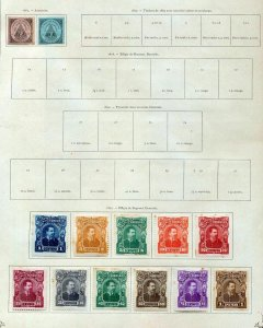 ECUADOR 1863/1911 MH Unused Collection(49 Stamps )NT4015
