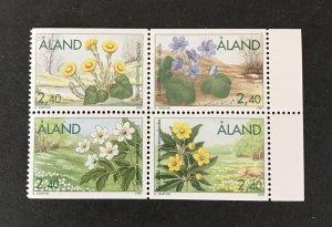 Aland Islands 1996 #130-33,Block of 4, MNH