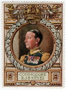 (I.B) Cinderella Collection : Lord Roberts Memorial (Commodore Keyes)
