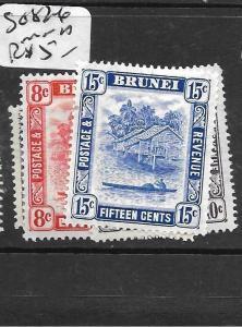 BRUNEI (PP0304B) SG 82-6   MNH