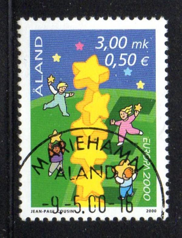 Aland Finland Sc 166 2000 Europa stamp used