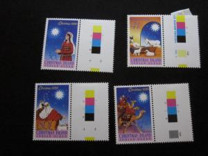 Christmas Island #242-45 Mint Hinged- (X9) I Combine Shipping