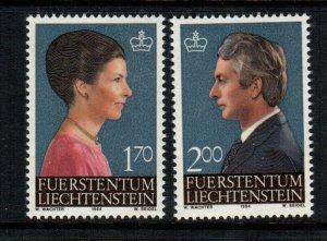 Liechtenstein  799 - 800  MNH cat $ 3.40