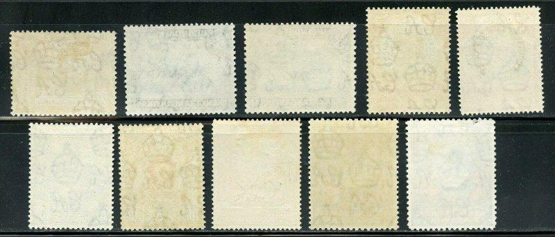 KENYA UGANDA TANGANYIKA   SCOTT#66/85 & VARIETIES  MINT HINGED-SCOTT $700+