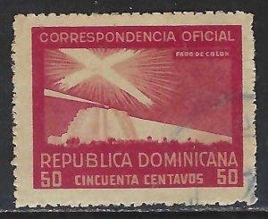 Dominican Republic O25 VFU COLUMBUS 315G-6