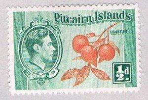 Pitcairn Islands 1 MLH Oranges 1 1940 (BP52027)