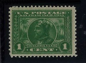 397 - 1c F-VF Panama Pacific Exposition 1915 Mint NH Cat $35 (Stk3)