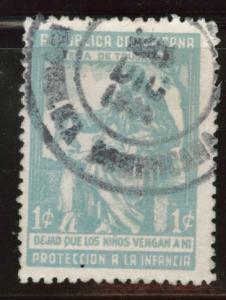 Dominican Republic Scott RA13 used postal tax stamp Burnette
