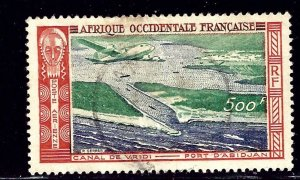 French West Africa C16 Used 1951 issue    (ap1407)