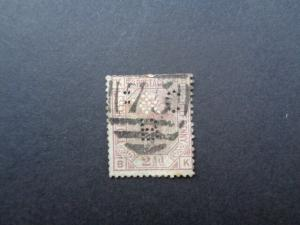 Stamps Victoria Two and a Half Pence Mauve Plate 3